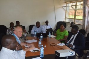 UNICEF's Chief of Health visits Makerere, lauds urban health project